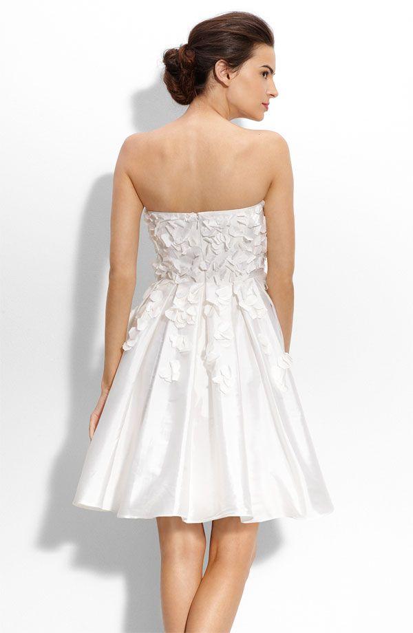 Calvin Klein wedding dress (back)