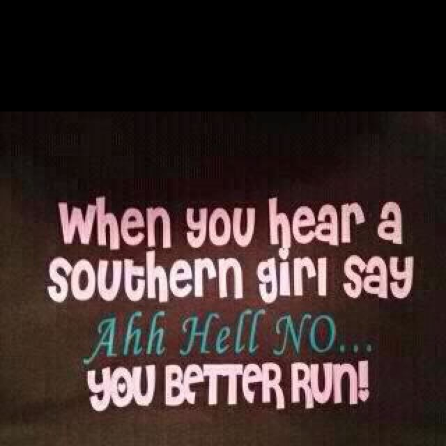 not only southern girls... midwestern girls say it too!
