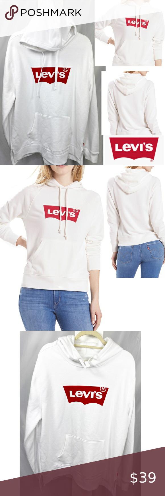 Levi S Batwing Logo Hoodie Top Sweatshirt Sweater Hoodie Top Sweatshirts Hoodie Top Sweatshirt Sweater [ 1740 x 580 Pixel ]