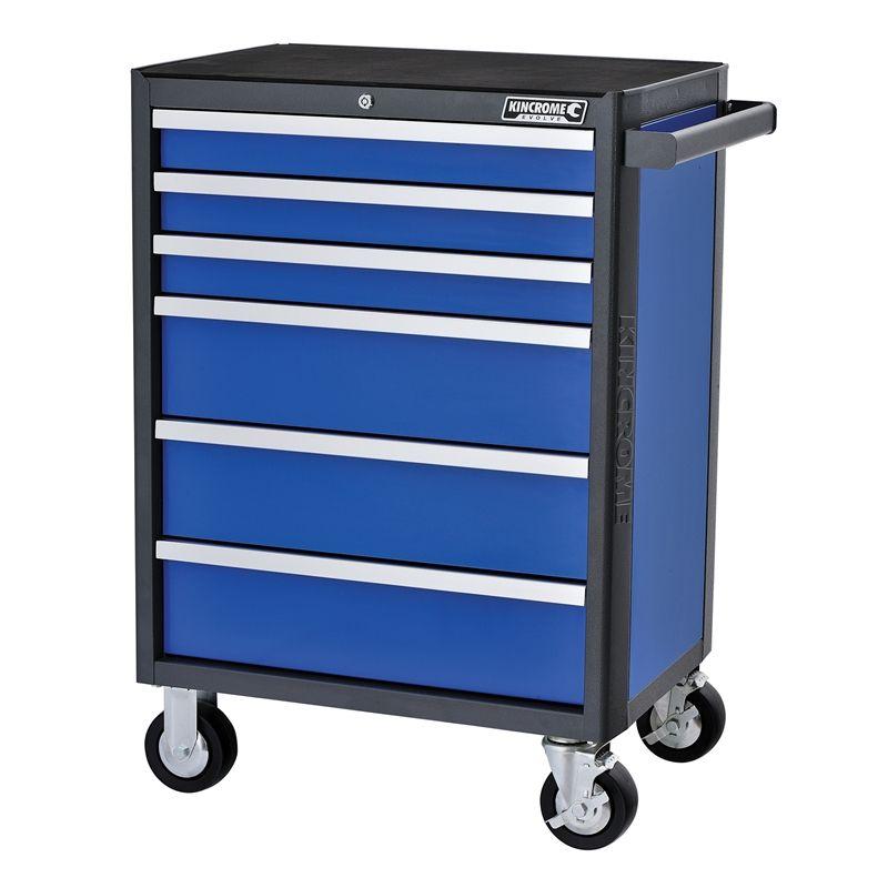 Kincrome 670 X 470 X 970mm 6 Drawer Evolve Tool Trolley Storage