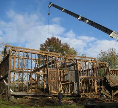 The Frame During The Dismantling Process: This one-of-a ...