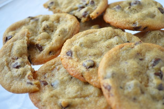 Crispy Chocolate Chip Cookies | Community Post: 10 Paleo Cookie Recipes That Will Blow Your Mind