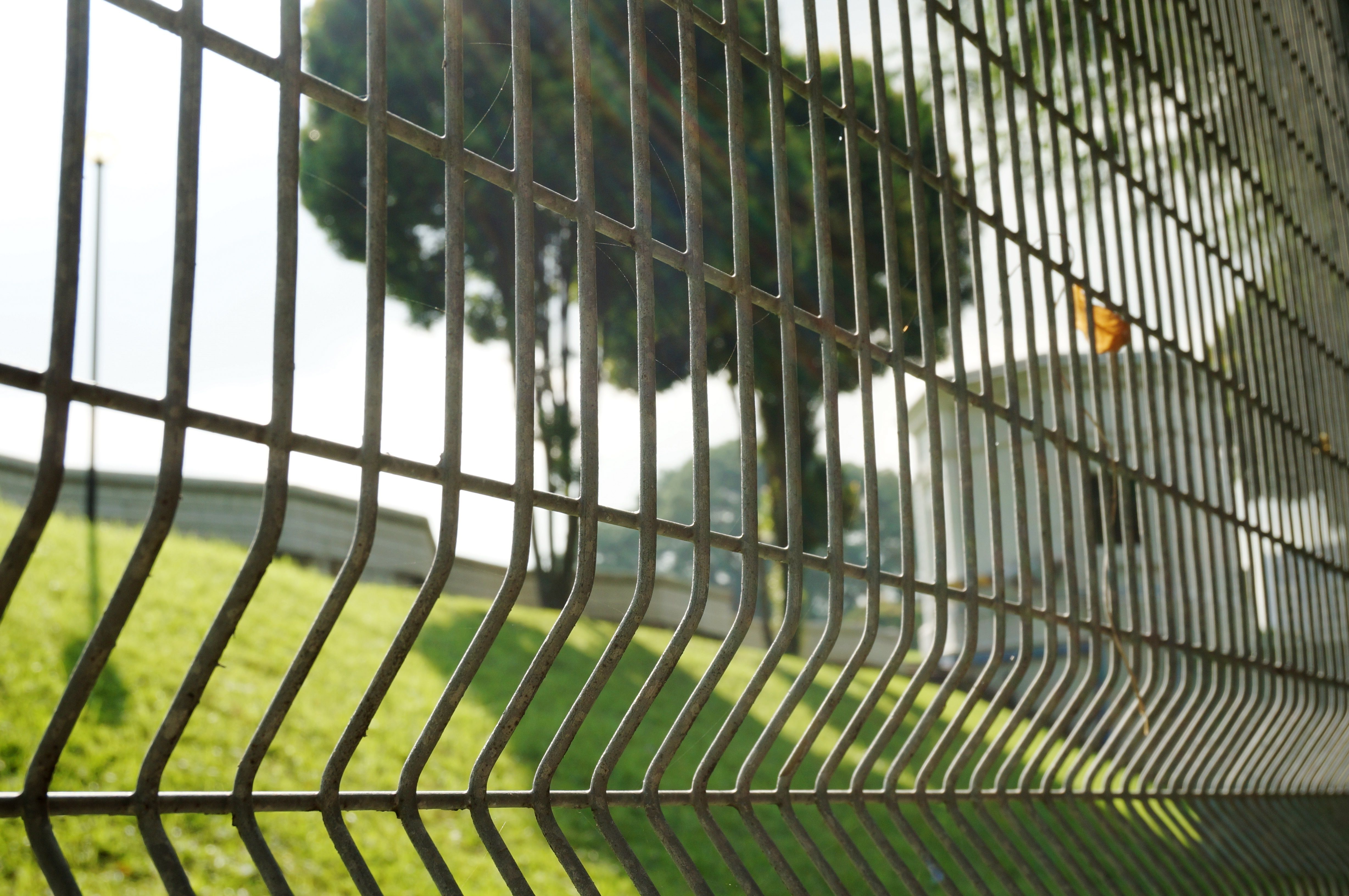 The fence between us and the Fort Canning Reservoir. Really amazed of how they managed to have a reservoir underground!