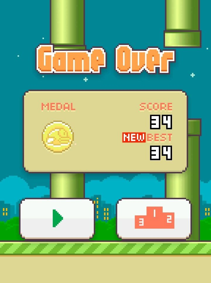 Flappy Bird Review: Again You Will Say, This Time I Will Make Highest Score