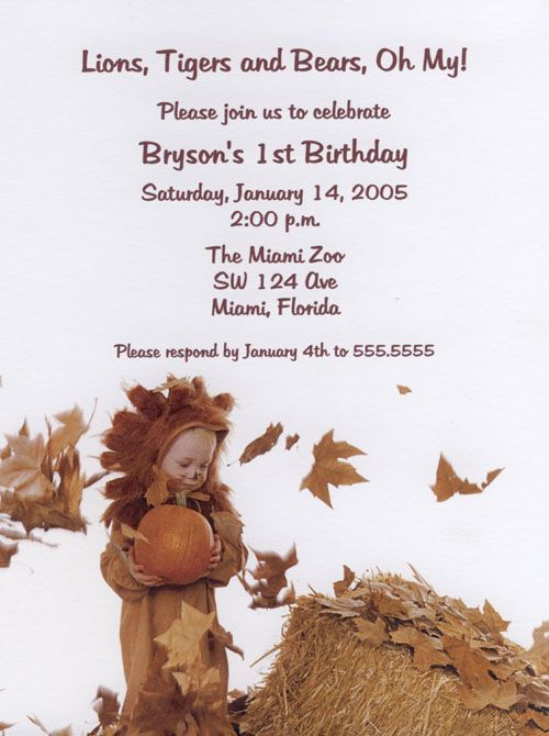 Summer's Leaving Party Invitations.  This is a great invitation for any Fall/Autumn occasion such as A Halloween Costume Party.  Purchase at www.tcwdesigns.com