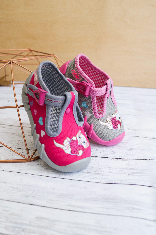 Buciki Kapcie Dziewczece Baby Shoes Kids Shoes