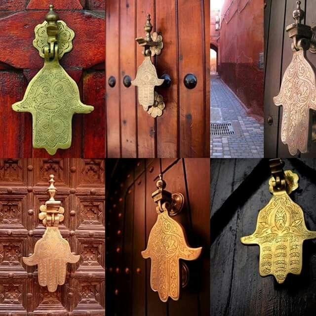 Moroccan Hamsa Door Knocker Moroccan Design Door