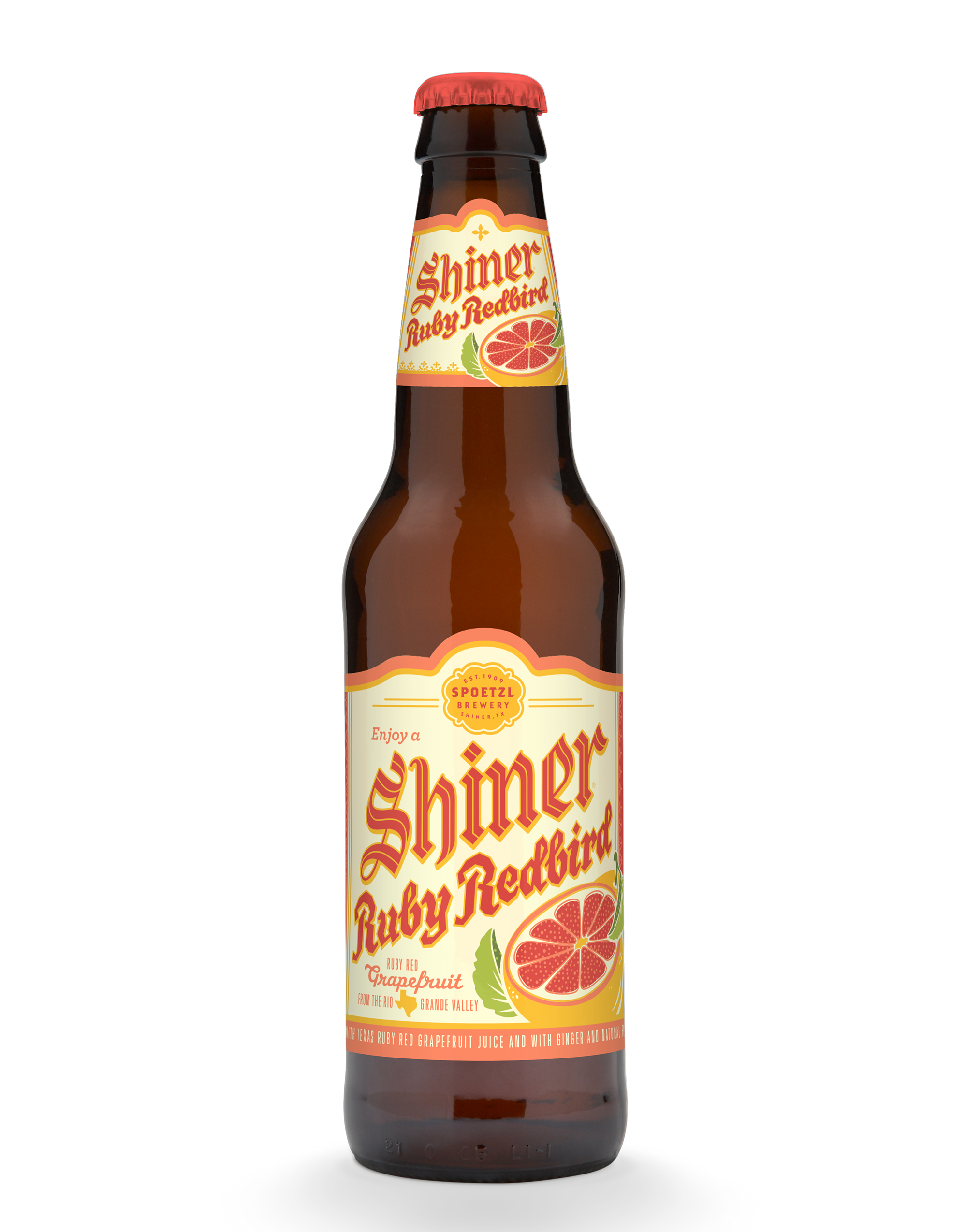 Shiner Ruby Redbird Beer Label Art Beautiful Beer Shiner