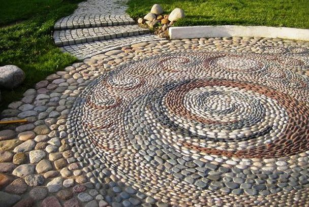 Fabulous garden decorating ideas with rocks and stones for Garden designs with pebbles