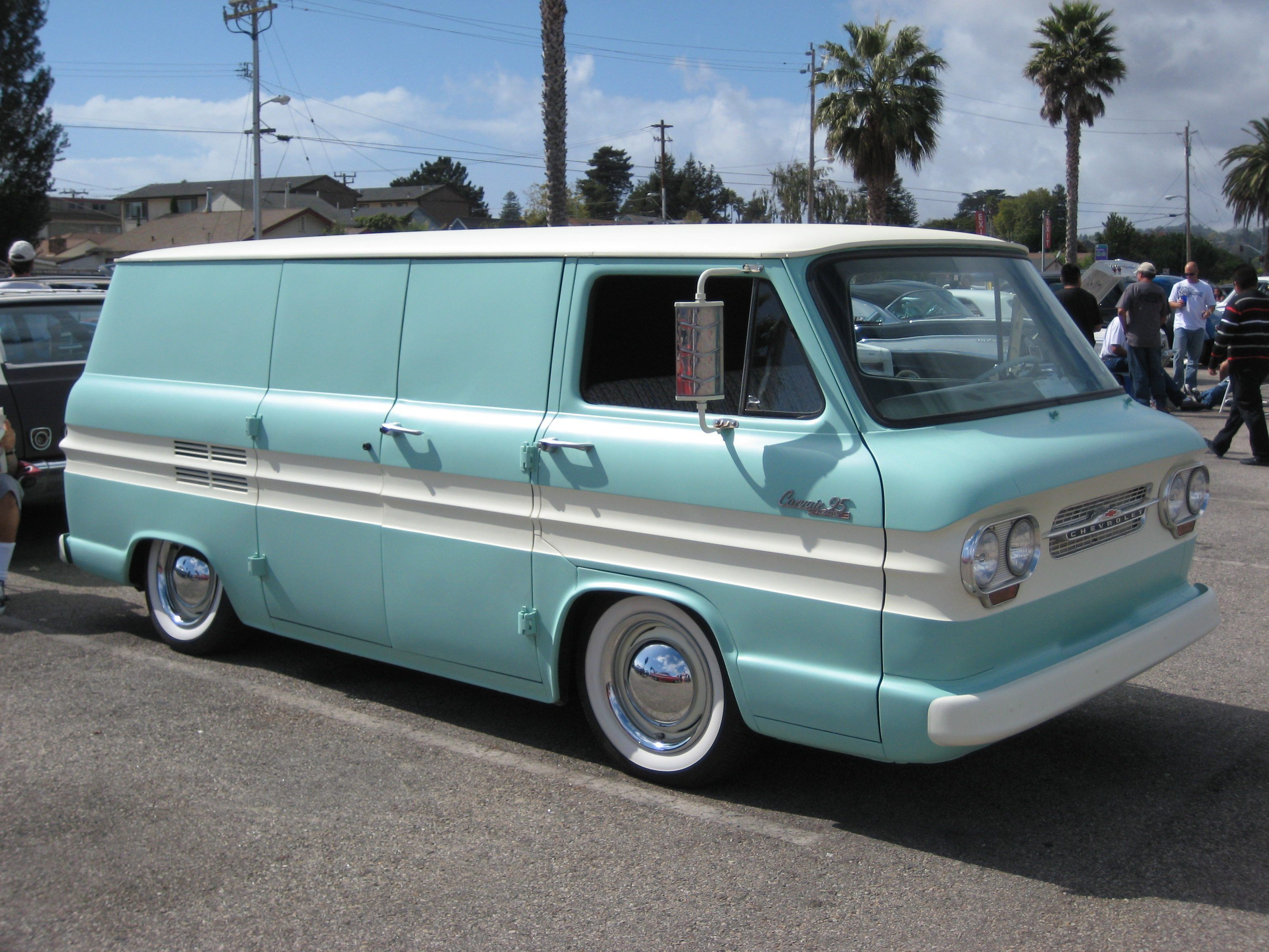 Driving In The 60s The Chevy Corvair Chevy Corvair Chevrolet Corvair Van