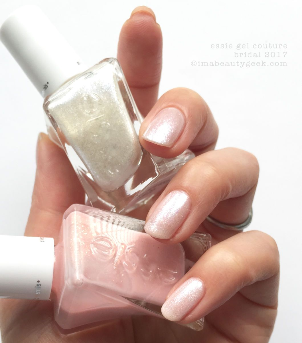 ESSIE BRIDAL 2017 COLLECTION SWATCHES & REVIEW | Esmalte