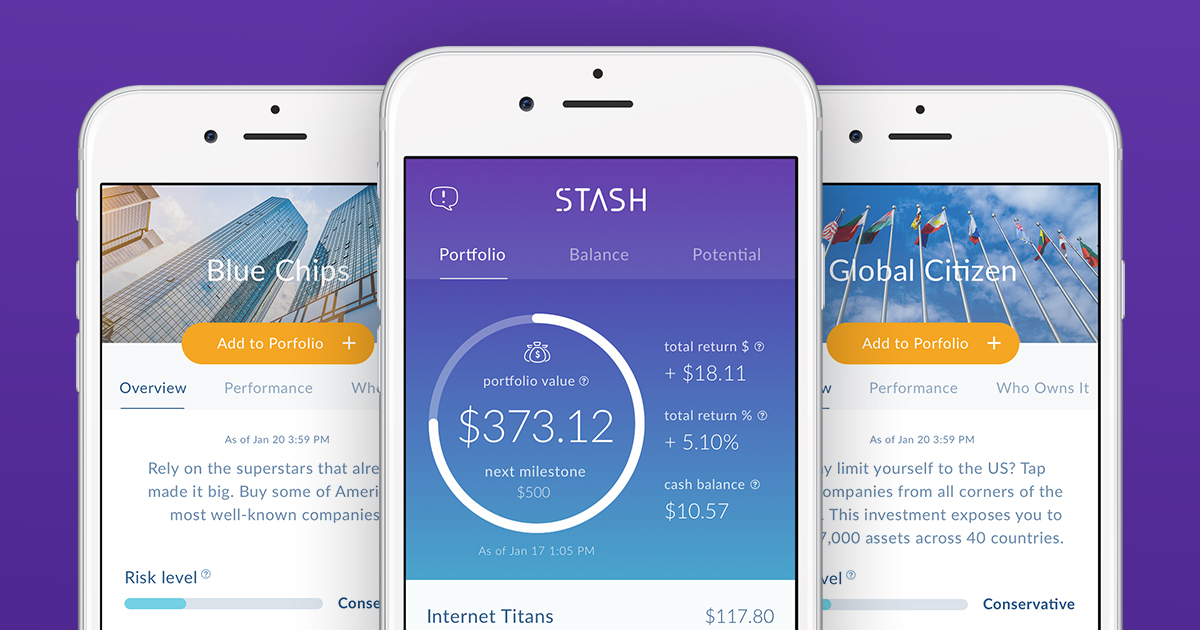 What is a Stash banking account (With images) Investing