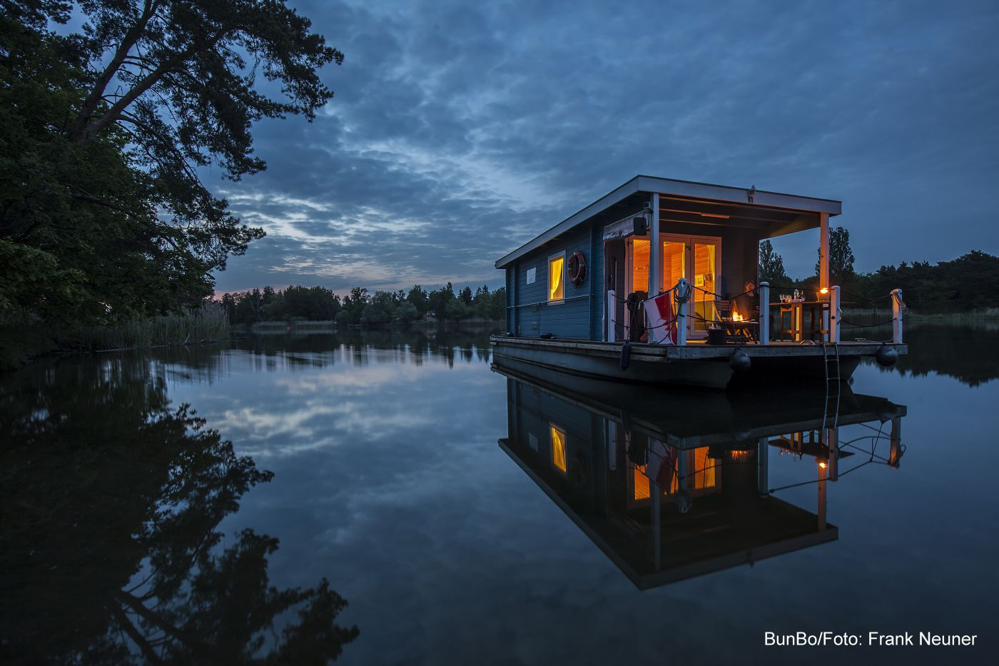 bunboland Brandenburg BunBo Havel Urlaub Hausboot
