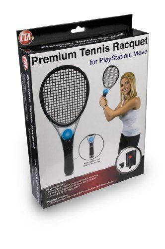Playstation Move Premium Tennis Racquet 9 99 Amazing Discounts Your 1 Source For Video Games Consoles Accessorie Playstation Move Tennis Racquet Racquets