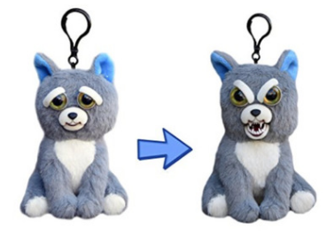 Feisty Funny Expression Pets Plush Toy Plush Stuffed Animals Animal Plush Toys Animated Animals
