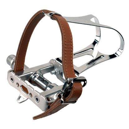 Forte Courier Pedals Silver Bike Pedals Cycling Pedals