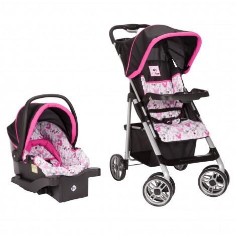 Minnie Mouse Butterfly Saunter Sport Travel System From Safety 1st