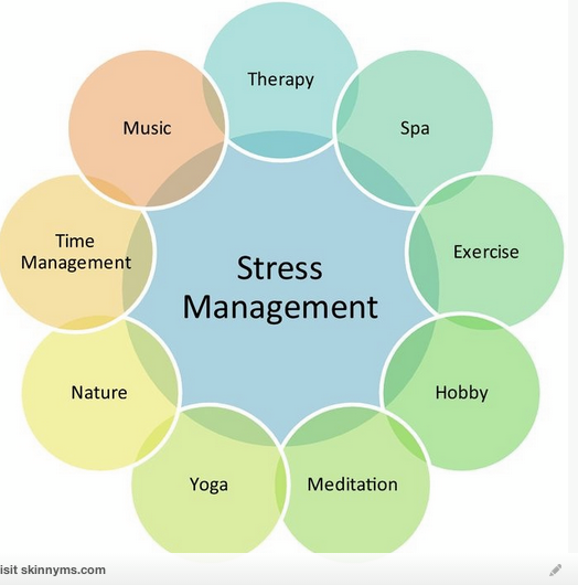 Stress Management Chart  Education    Stress