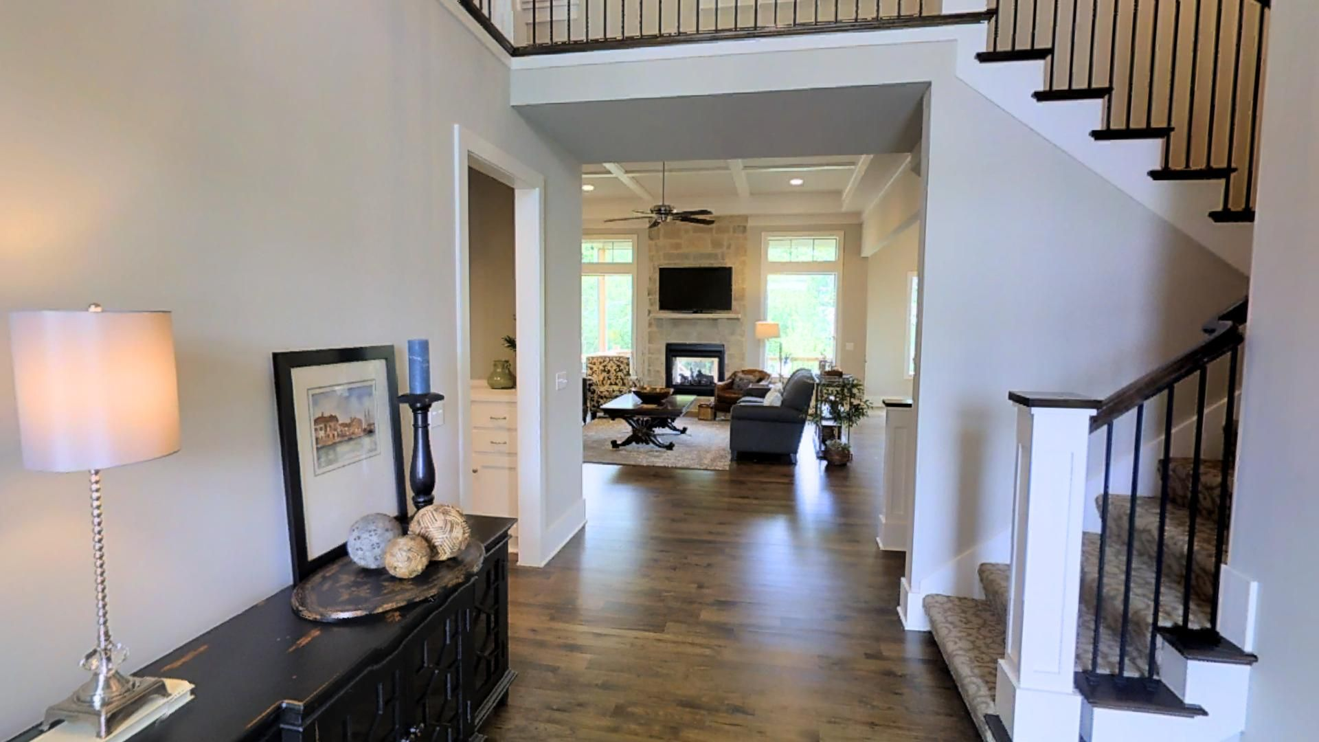 The Juniper by Lambie Custom Homes Main level large Master bedroom ...