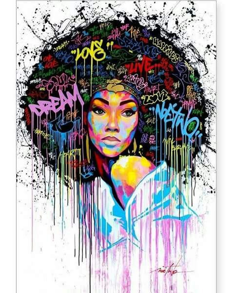 Poster Print Wall Art Graffiti Wall Art 3 V3 Landscape Modern Street Art Décor hanging decorations