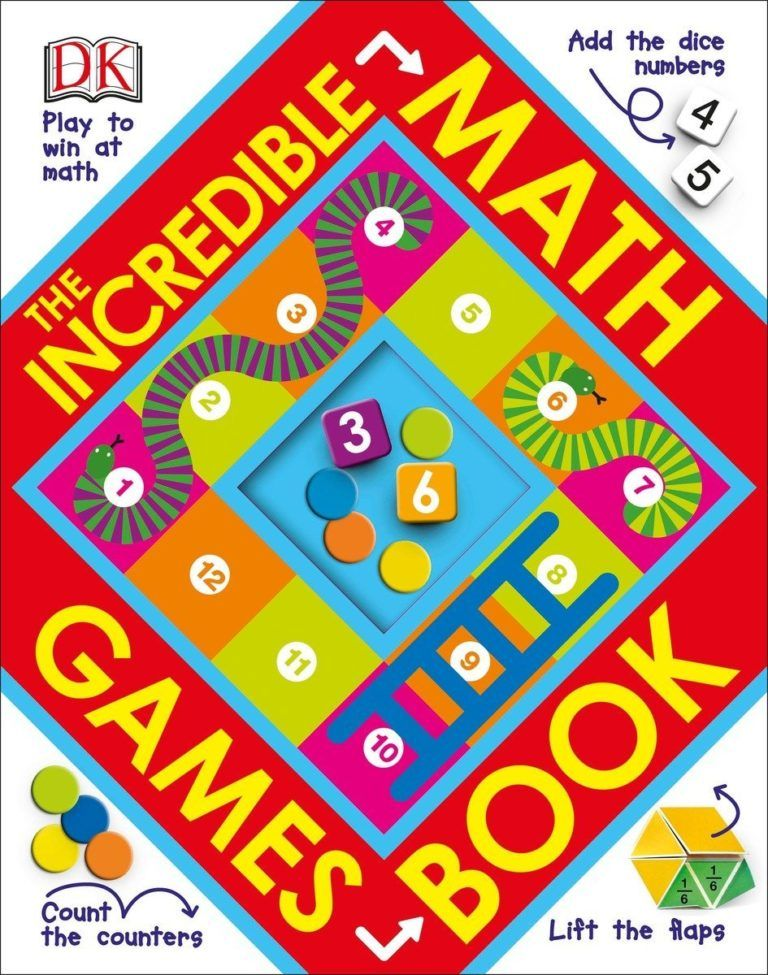 DK Discovery Day The Incredible Math Games Book
