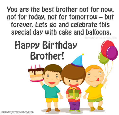 Happy Birthday Wishes For Brother Very First Best Friend Dengan
