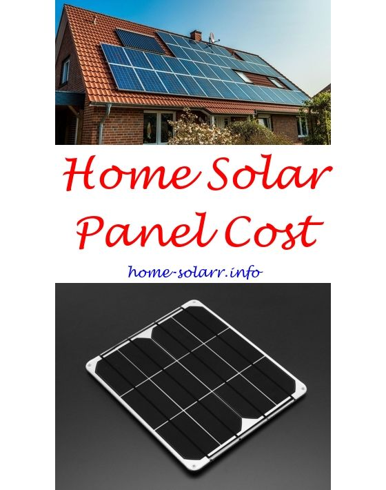How do you hook up a solar panel to your house