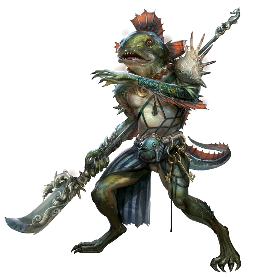 skum Male Skum Fighter   Urlgryber   Pathfinder PFRPG DND D&D 3.5 5th  skum