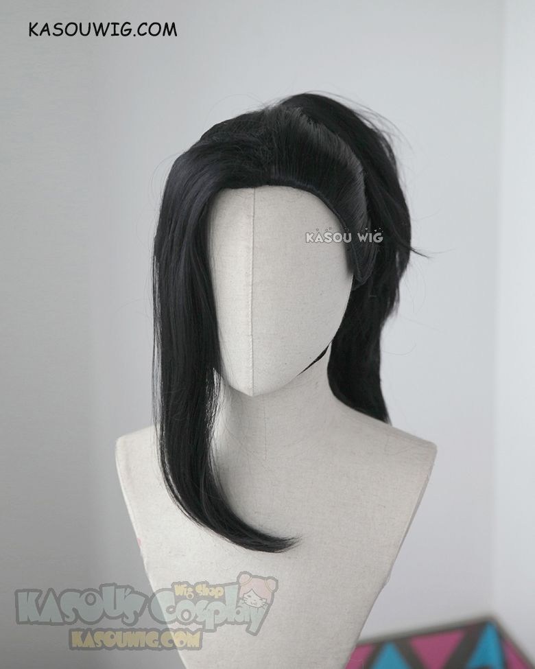 Kasou Wig My Hero Academia Yaoyorozu Momo Black Thick Ponytail Cosplay Wig Ka032 Kawaii Hairstyles Anime Hair Kawaii Wigs