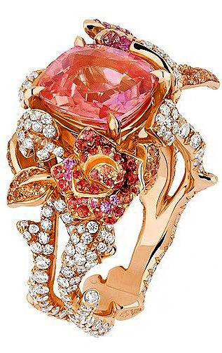 Dior Joaillerie. I would normally say this is too ornate for me, because it is.  That does not mean that I do not appreciate the WOW Factor of this ring!!!