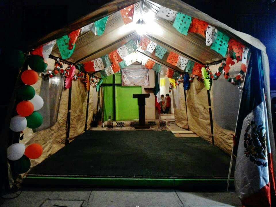 Decoración: Noche Mexicana