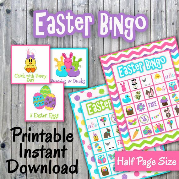image about Free Printable Easter Bingo Cards called Pin upon Pleasurable Get together Online games and Prinables