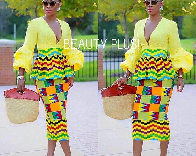 Femmes africaines, vêtements pour mariage africaine imprimer robe pour les vêtements de bal africaine pour les femmes / robe de mariée Ankara / africaine robe occasion