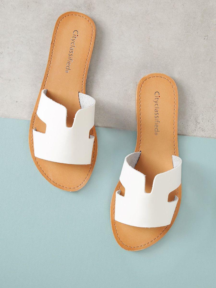 Shein Cut Out Sheinsidefashion Sandal Sandals Slide Lc3tfju15k 3c4R5AjLq