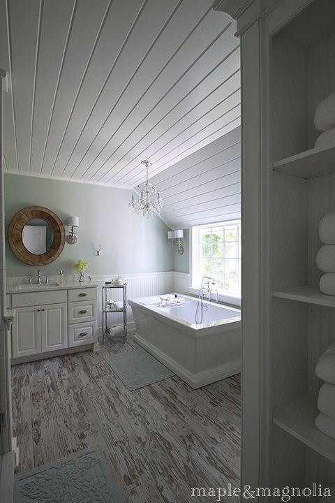 Master Bath Renovation By Susan At Maple & Magnolia. Love