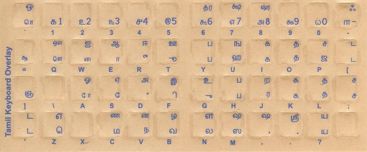 Pin by `Jp on Tamil_Language Keyboard stickers, Keyboard