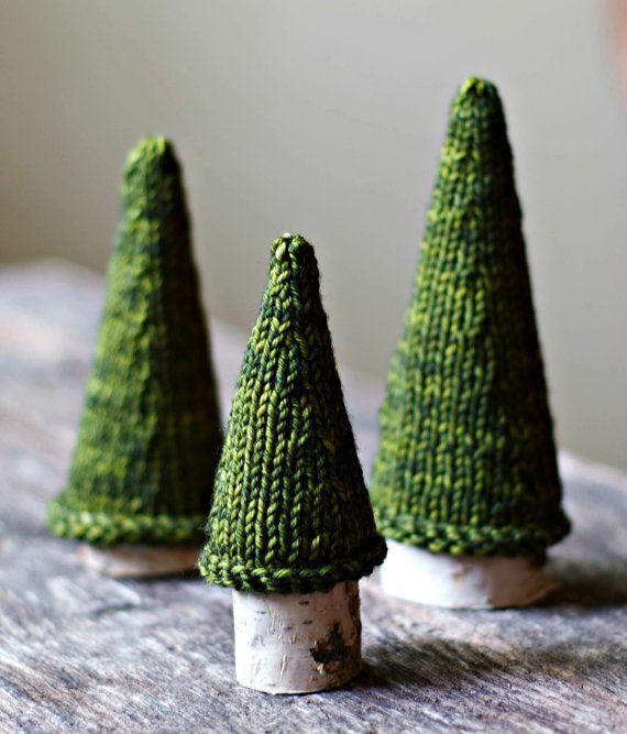 Photo of Strickmuster – Jack Pine Tree – stricken Weihnachtsbaum – Urlaub Dekor – gestrickter Baum – s…