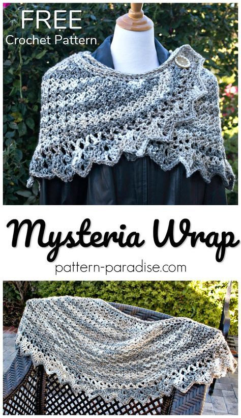 Free Crochet Pattern - Mysteria Wrap - #12WeeksChristmasCAL ...