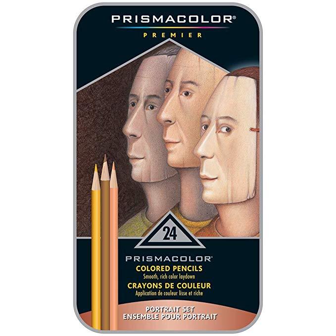 24-Count Prismacolor Premier Colored Pencils Soft Core