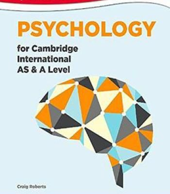 Psychology For Cambridge International As And A Level Pdf Psychology A Level Psychology Psychology Books