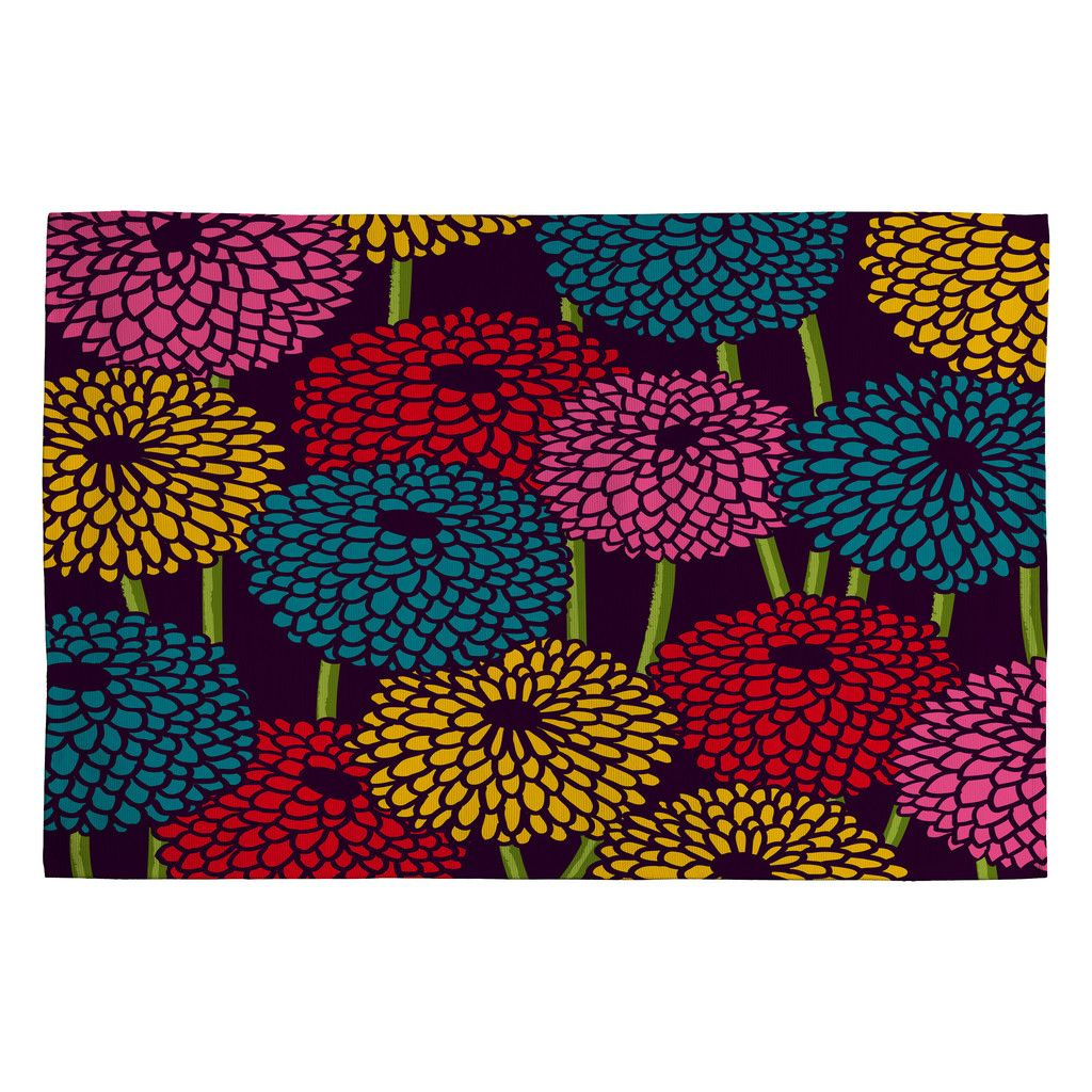 Budi Kwan Flower Field Woven Rug | DENY Designs Home Accessories