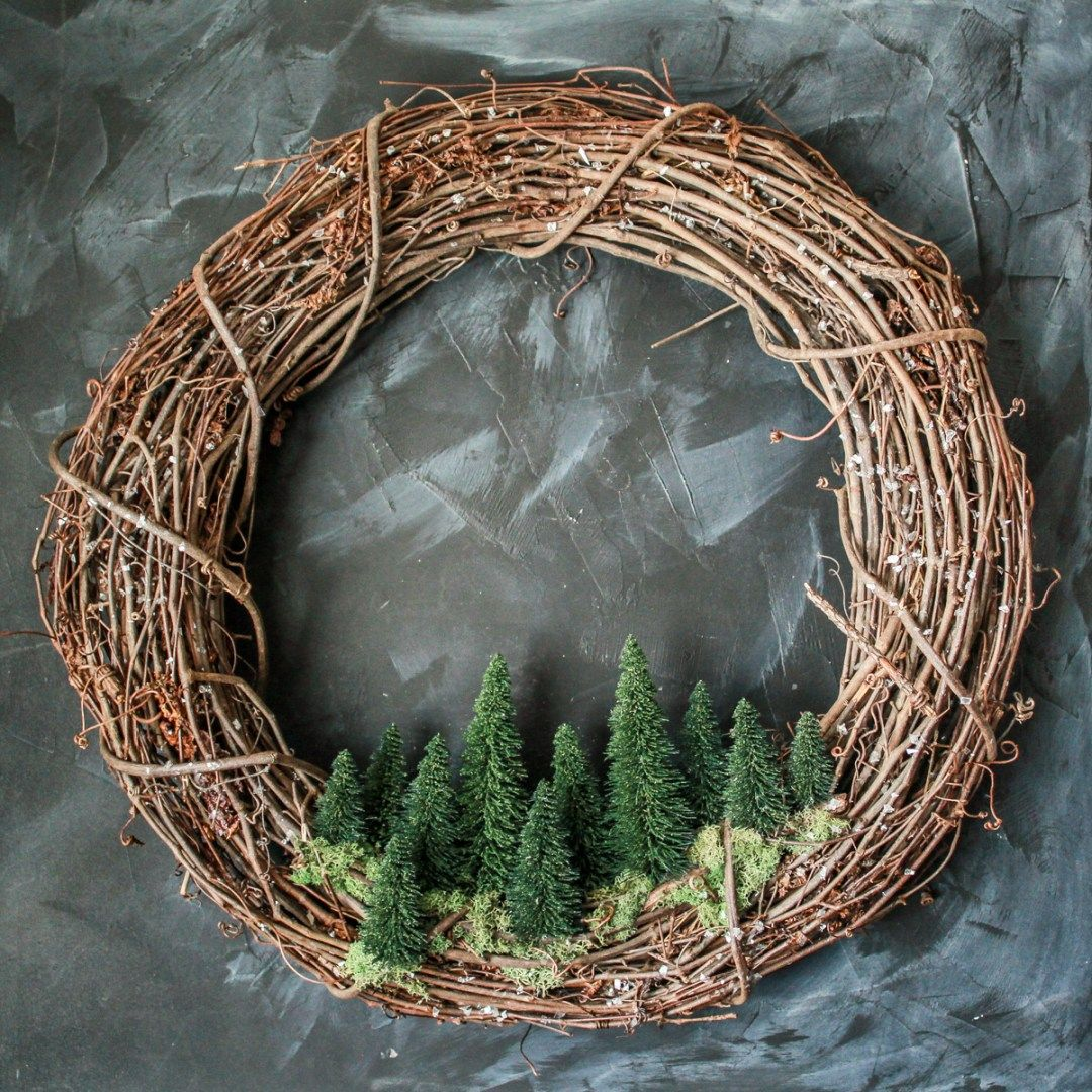 Photo of Winter Wreath DIY To Keep Up After Christmas   Lilies and Loafers