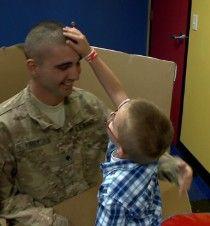 Boy gets best birthday soldier surprise - CNN.com Video