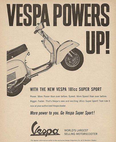 Vintage Vespa Ads Vespa Vespa Super Vespa Vintage