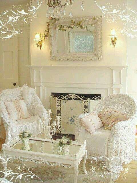chic cozy living room furniture. Shabby Chic Cozy Living Room #shabbychicfurniturewhite Furniture I