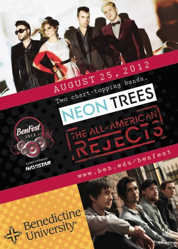 NEON TREES and ALLAMERICAN REJECTS Music fuels my soul