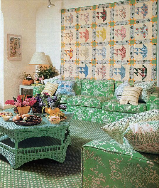 Old Westbury Gardens Interior: Soft Furnishings Ideas & Fabrics By Designers Guild. Pan