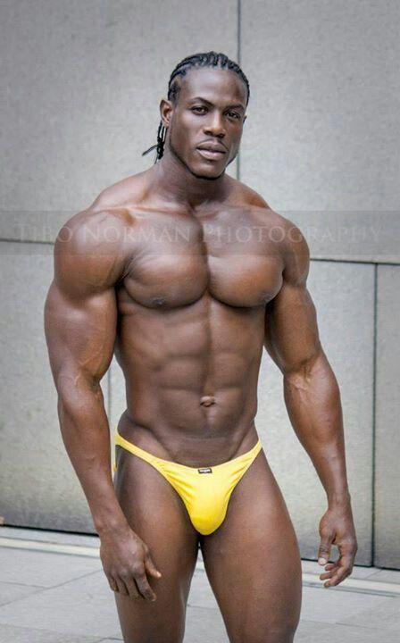Big black sexy man