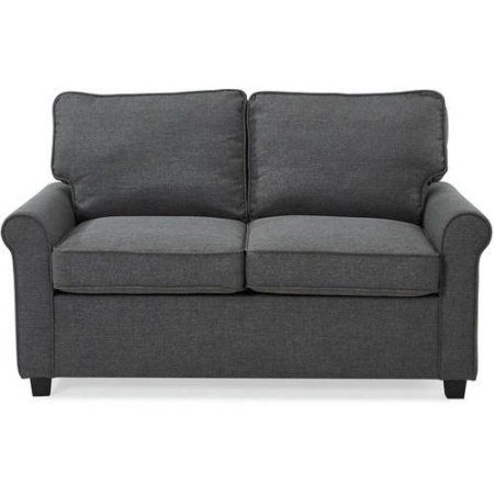 Free Shipping Buy Mainstays 57 Loveseat Sleeper With