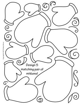 Art Enrichment Everyday JANUARY Activity Coloring Pages